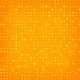 Abstrakter orange Halbtonhintergrund Lizenzfreies Stockfoto