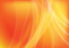 Abstrakter orange Hintergrund Lizenzfreies Stockfoto