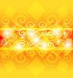Abstrakter orange Hintergrund. stock abbildung