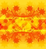 Abstrakter orange Hintergrund. lizenzfreie abbildung