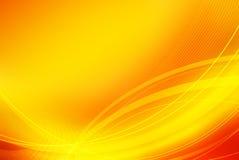 Abstrakter orange Hintergrund Stockbild