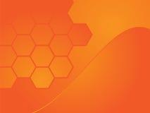 Abstrakter orange Hintergrund Lizenzfreie Stockbilder