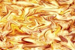 Abstrakter orange und gelber Hintergrund Lizenzfreie Stockfotos