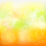 Abstrakter orange und gelber Hintergrund stock abbildung