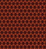 Abstrakter orange und gelber Musterhintergrund Stockfoto
