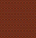 Abstrakter orange und gelber Musterhintergrund Stockbild