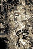 Abstrakter orchideenbaum lizenzfreies stockfoto