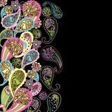 Abstrakter Paisley-Hintergrund Lizenzfreies Stockbild