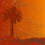 Abstrakter Palmehintergrund Stockbild