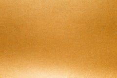 Abstrakter Papier-Beschaffenheitshintergrund des strahlenden Golds Stockfotografie