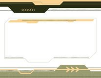 Abstrakter Pfeil-Hintergrund Lizenzfreies Stockbild