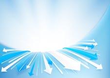 Abstrakter Pfeilhintergrund Technologiekonzeptdesign Lizenzfreie Stockfotos