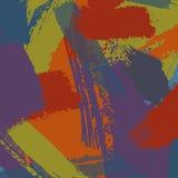 Abstrakter Pinselanstrich Stockfotos
