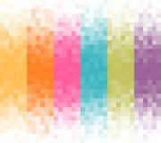 Abstrakter Pixelhintergrund Lizenzfreie Stockfotos