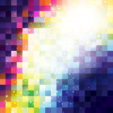 Abstrakter Pixelhintergrund stock abbildung