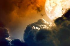 Abstrakter Planet lizenzfreie abbildung