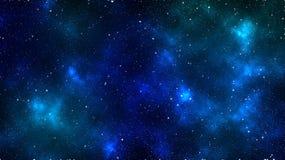 Abstrakter Platz Bunter Platzhintergrund Schöner Nebelfleck Stern in der Raumtapete stock abbildung