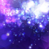 Abstrakter polygonaler Hintergrund Lizenzfreie Stockfotografie