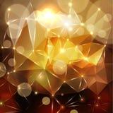 Abstrakter polygonaler Hintergrund Lizenzfreie Stockbilder