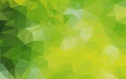 Abstrakter polygonaler Hintergrund, Lizenzfreies Stockfoto