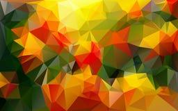 Abstrakter polygonaler Hintergrund, Lizenzfreie Stockfotos
