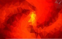 Abstrakter polygonaler Hintergrund, Stockfotos