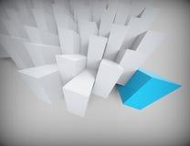 Abstrakter polygonaler Hintergrund Lizenzfreie Stockfotos