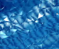 Abstrakter polygonaler Hintergrund Stockbild