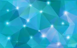 Abstrakter polygonaler Hintergrund des Vektors Lizenzfreie Stockfotos