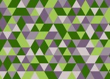 Abstrakter polygonaler Hintergrund Geometrisches Muster Vektor Stock Abbildung