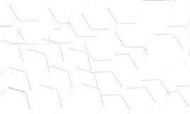 Abstrakter polygonaler Hintergrund mit Schatten Stockfotos