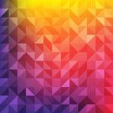 Abstrakter polygonaler nahtloser Hintergrund Stockbilder