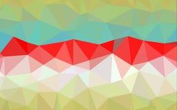 Abstrakter Polygonmusterhintergrund Stockbild
