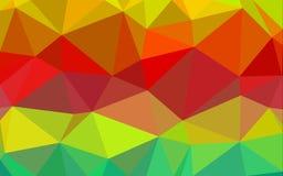 Abstrakter Polygonmusterhintergrund Lizenzfreie Stockfotos