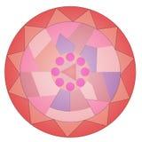 Abstrakter psychedelischer Art Background Vektor Stockbild