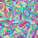 Abstrakter Pucci nahtloser Wiederholungs-Muster-Vektor Stockbilder