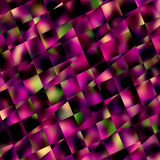 Abstrakter purpurroter quadratischer Mosaik-Hintergrund Geometrische Muster und Hintergründe Diagonale Linien Muster Block-Fliese Stockfotografie