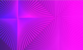 Abstrakter purpurroter Steigungshintergrund mit Raute stock abbildung