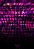 Abstrakter purpurroter und schwarzer Mosaikhintergrund Stockbild