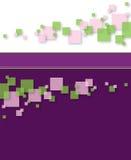 Abstrakter quadratischer Hintergrund Lizenzfreie Stockfotos