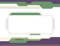 Abstrakter quadratischer Hintergrund Stockbilder