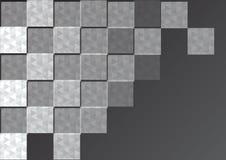 Abstrakter quadratischer Hintergrund Lizenzfreies Stockfoto