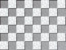 Abstrakter quadratischer Hintergrund Stockbild