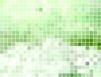 Abstrakter quadratischer Pixelmosaikhintergrund Lizenzfreie Stockbilder