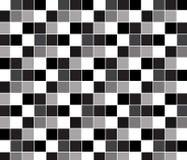 Abstrakter quadratischer Pixelmosaikhintergrund Stockbild