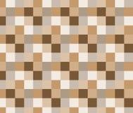 Abstrakter quadratischer Pixelmosaikhintergrund Stockbilder