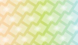 Abstrakter quadratischer Vektor-Hintergrund Stockfoto