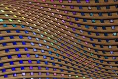 Abstrakter Rasterfeld-Hintergrund Stockbilder