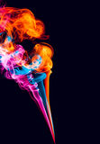 Abstrakter Rauch Lizenzfreie Stockbilder