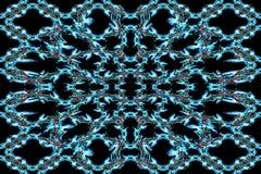 Abstrakter Rauch Art Pattern Stockbilder